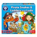 Pirate Snakes and Ladders & Ludo Board Gam