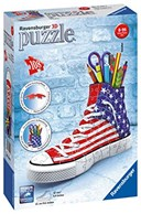 American Flag Sneaker 3D Puzzle 108pc