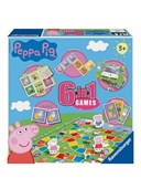 Peppa Pig 6 in 1 Games Box