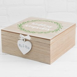 Love Story Wedding Keepsake Box