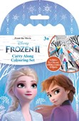 Frozen 2 Carry Along Colouring Set