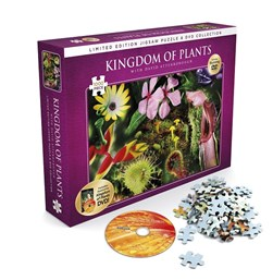 David Attenborough Kingdom of Plants Jigsaw + DVD
