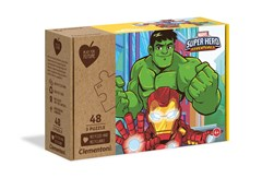 Clementoni Play For Future Marvel Super Hero 3x48 pc puzzle