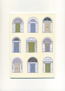 Dublin Georgian Doors Notebook Pastel Colours