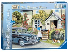 Happy Days At Work - The District Nurse 500pc