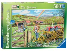 Happy Days at Work  The Farmer 500pc