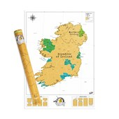 SCRATCH MAP IRELAND EDITION