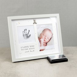 Hand Print Frame with Ink Pad