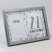 Luxe Birthday Male Birthday Frame 4 x 6 - 21