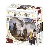 Harry Potter Hogwarts & Hedwig 300pc 3D Jigsaw Puzzle