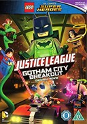 LEGO - JUSTICE LEAGUE - GOTHAM BREAKOUT DVD