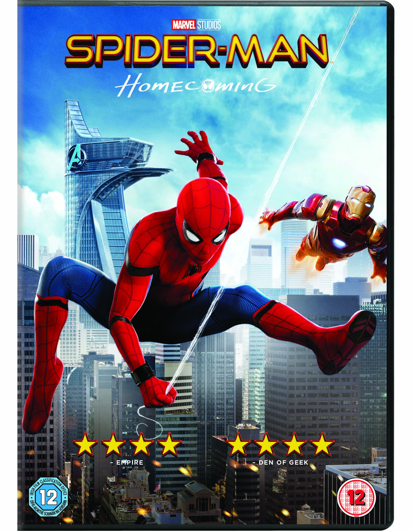 cf8ab898d9 SPIDER-MAN HOMECOMING DVD