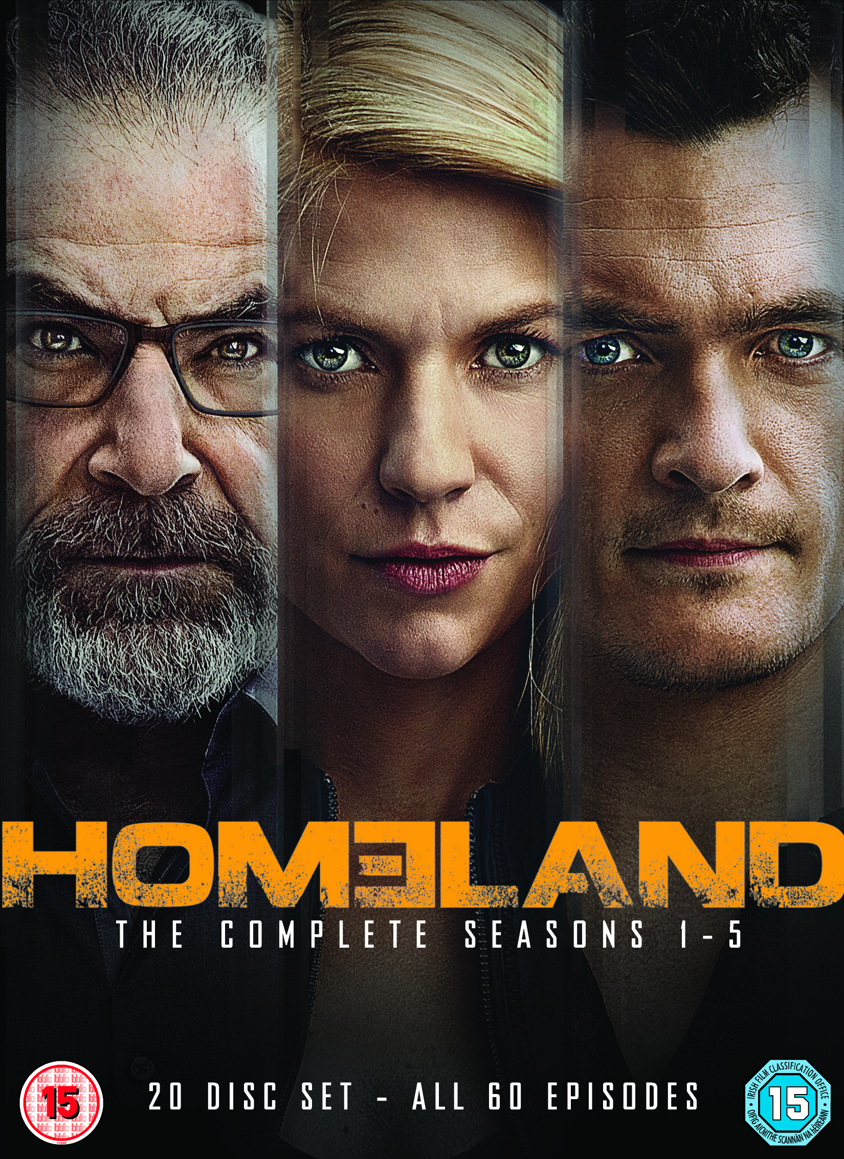 homeland season 1-5 dvd box set