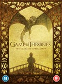 GAME OF THRONES COMPLETE 5 SEASON DVD