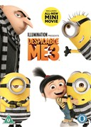 DESPICABLE ME 3 DVD