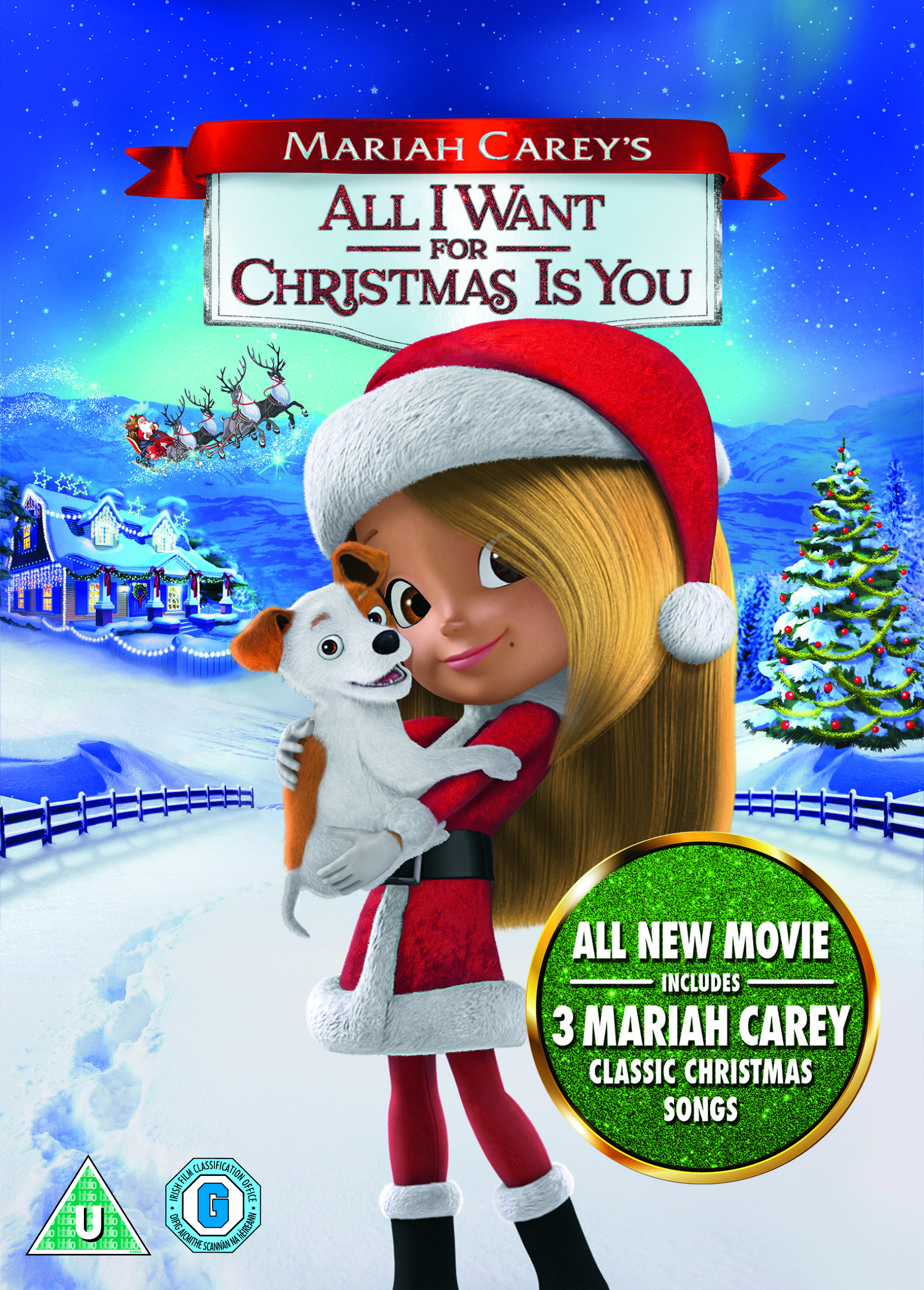 Mariah Careys All I Want For Christmas Is You.Mariah Carey S All I Want For Christmas Is You Dvd