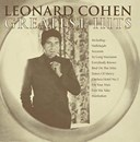 Leonard Cohen Greatest Hits CD