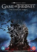 GAME OF THRONES S1-8 DVD