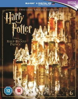 HARRY POTTER & THE HALF BLOOD PRINCE - 2 disc