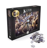 David Attenborough Night At The Natural History Museum Alive Jigsaw + DVD