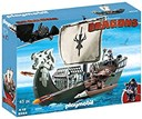 Playmobil How to Train Your Dragon Floating Drago's Ship wit
