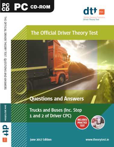 Driver Theory Test Cd Trucks Bus Including Step 1 2 Cp