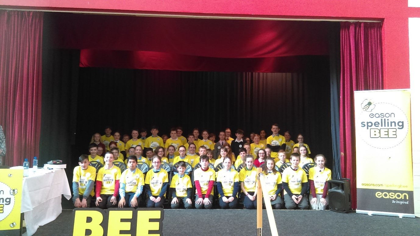 Spelling Bee 2019 - Cork Group Photo