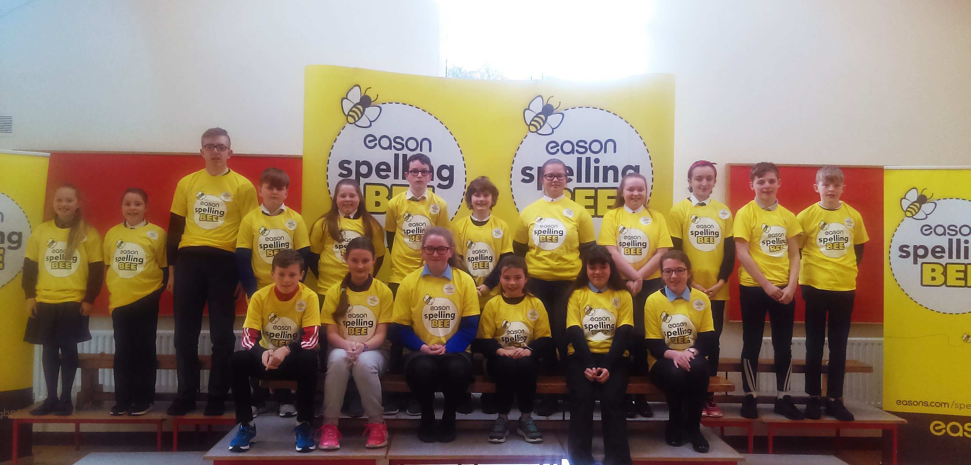 Spelling Bee 2019 - Kerry Group Photo