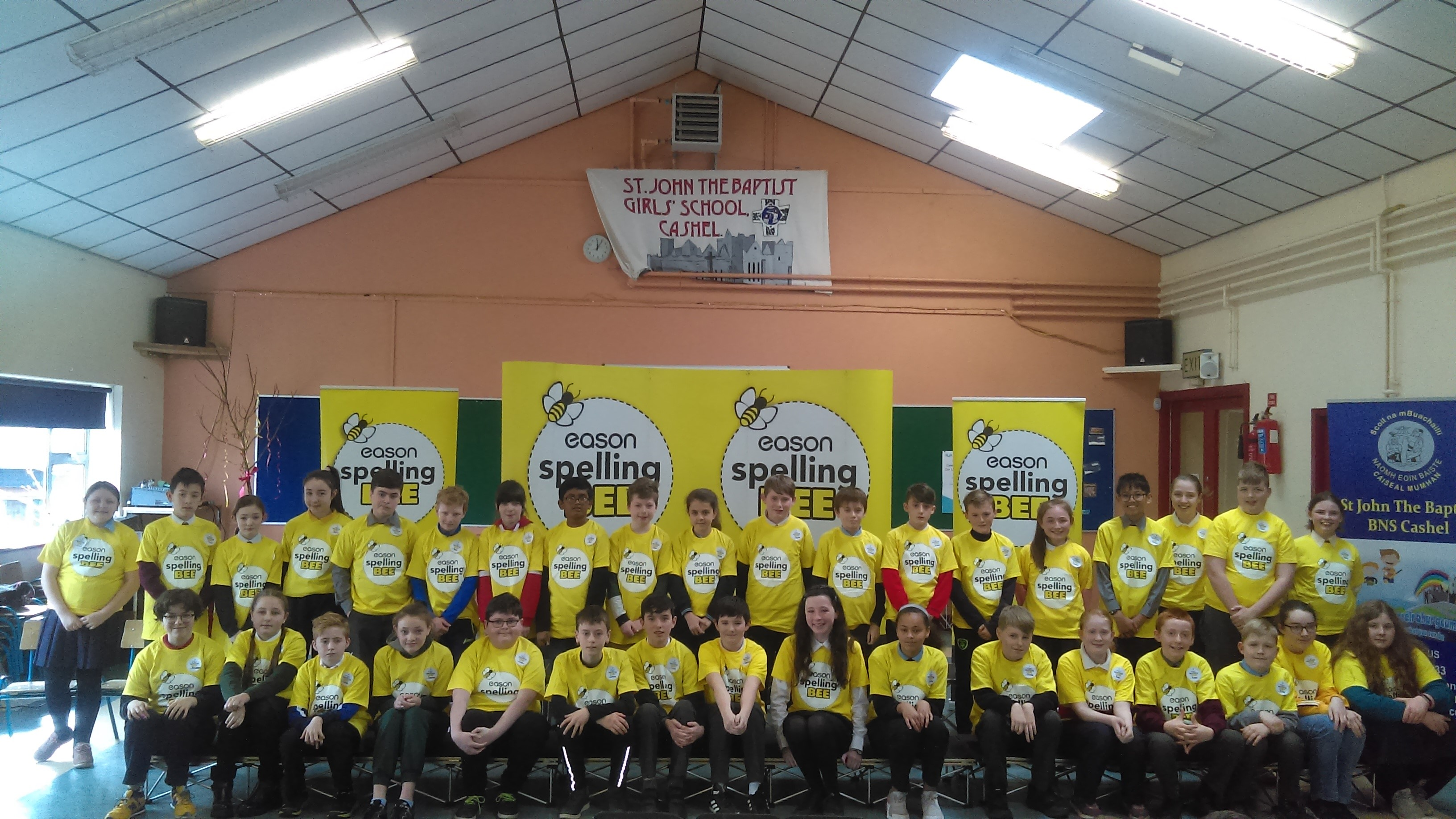 Spelling Bee 2019 - Tipperary Group Photo