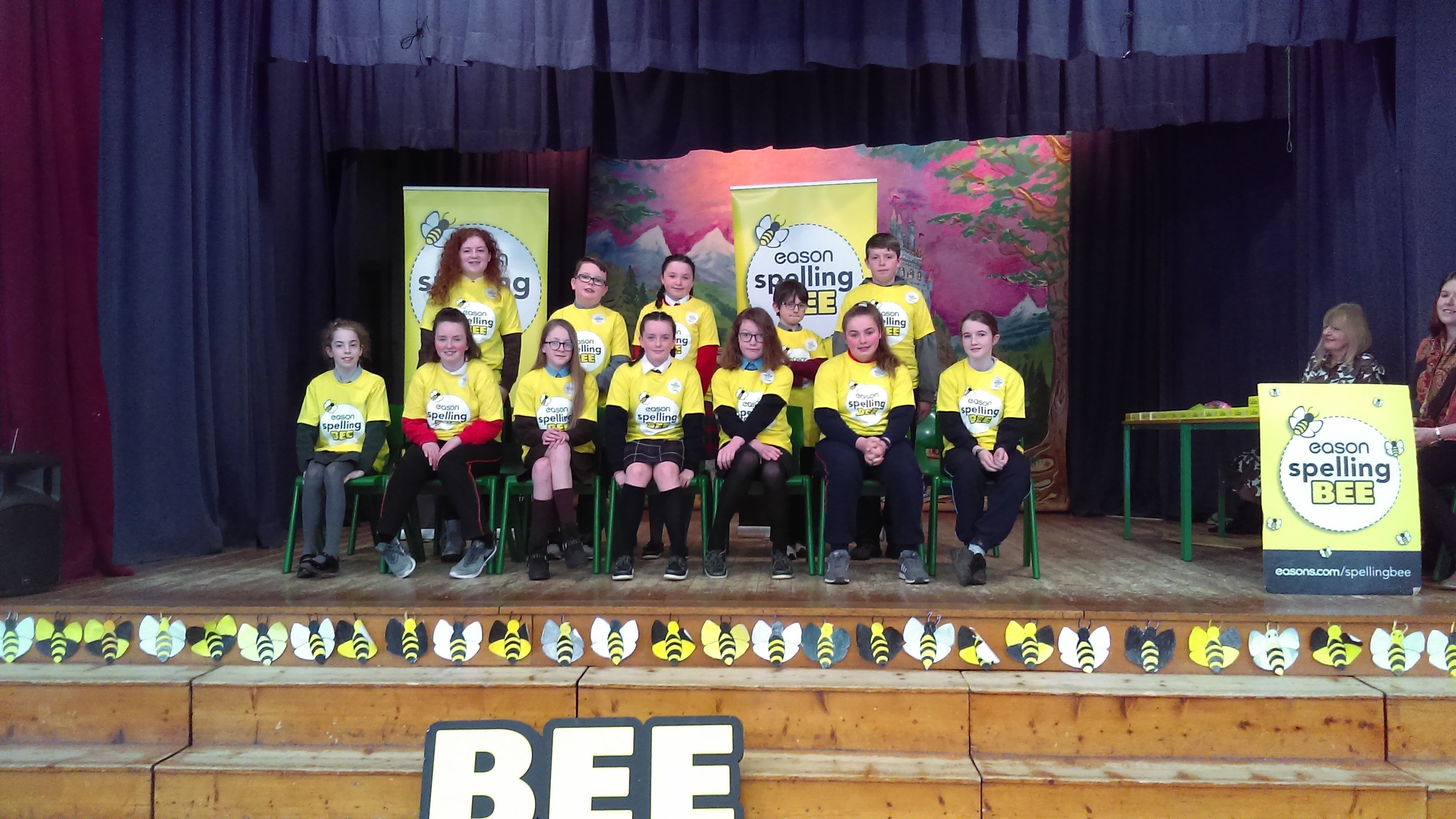 Spelling Bee 2019 - Waterford Group Photo
