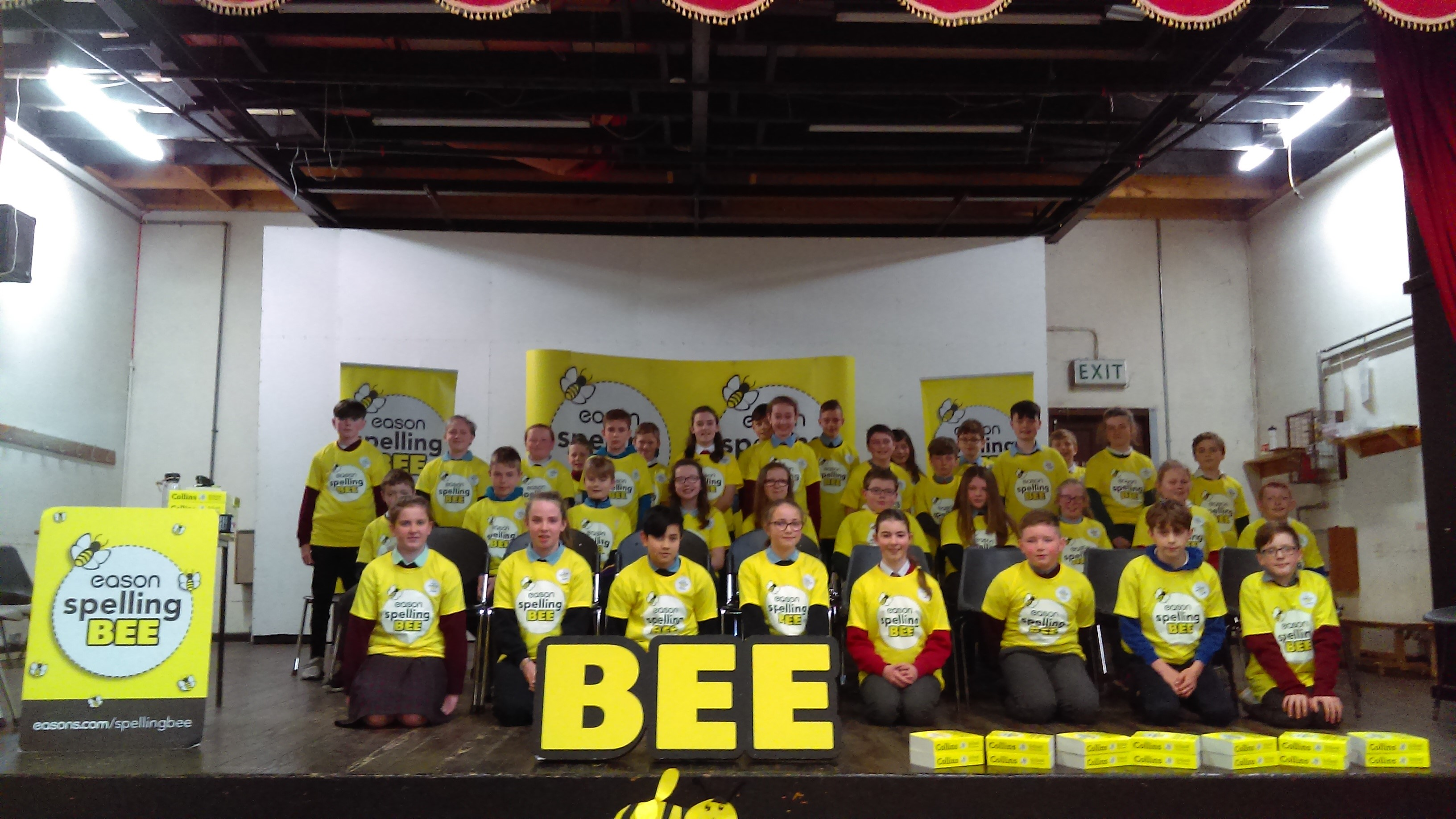 Spelling Bee 2019 - Wexford Group Photo
