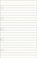 FILOFAX POCKET NOTEBOOK RULED PAPER REFI