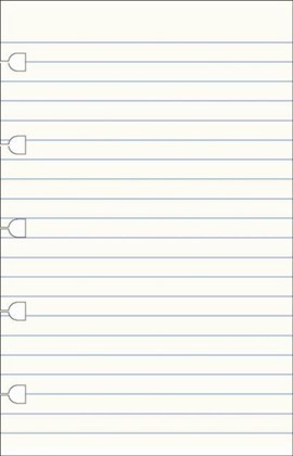 FILOFAX POCKET NOTEBOOK RULED PAPER REFI by