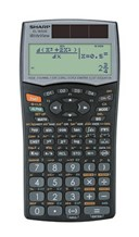 Sharp Elw506B Scientific Calculator
