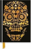 Notebook Gold Sugar Skull