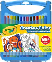 Crayola Supertips Colour & Create Case