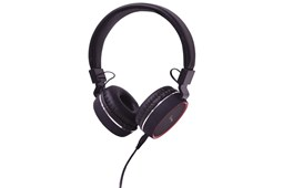 AV Link Headphone with Microphone Black