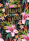 Thank You Packs Tropical Flowers 5 Pack