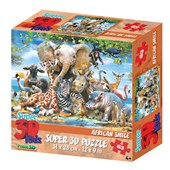 African Smile 63pc 3D Jigsaw Puzzle