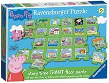 Peppa Pig Tell a Story Floor Puzzle 24pc